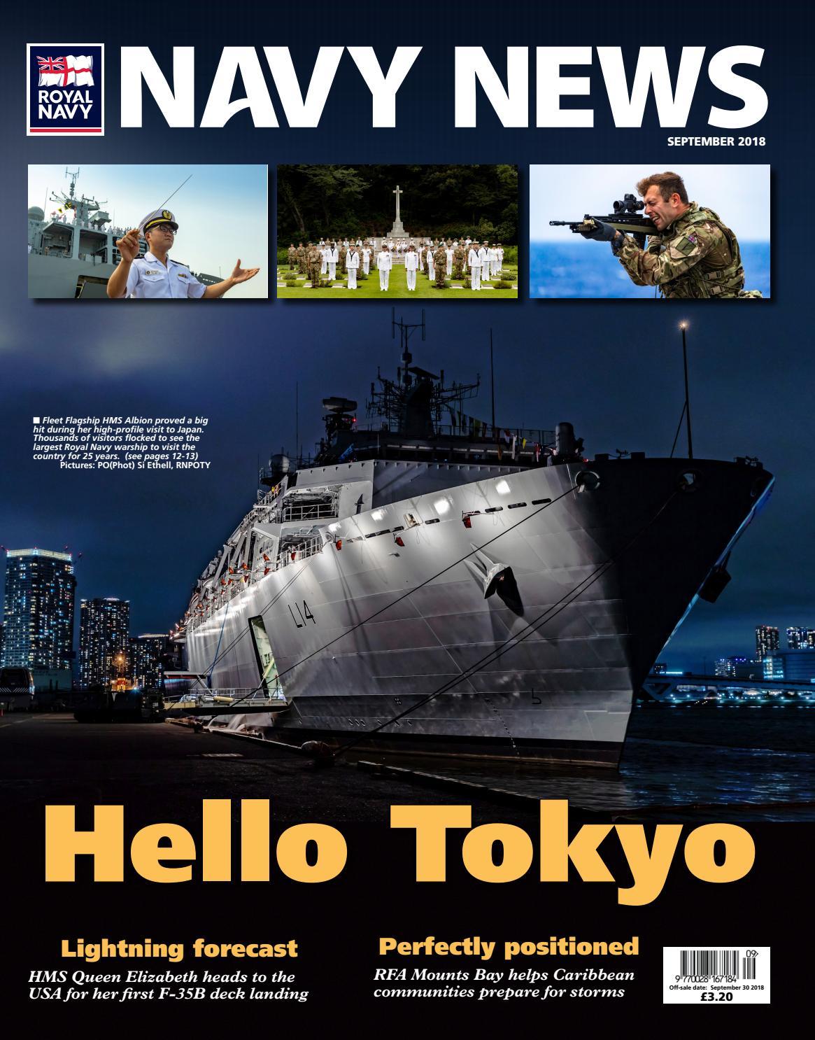 d9d4c4d5feba4 Navy News September 2018 by Navy News - issuu