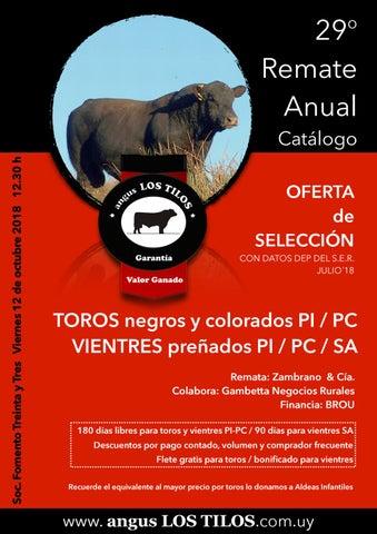 0ef34533ee17 Angus Los Tilos by Zambrano Remates - issuu