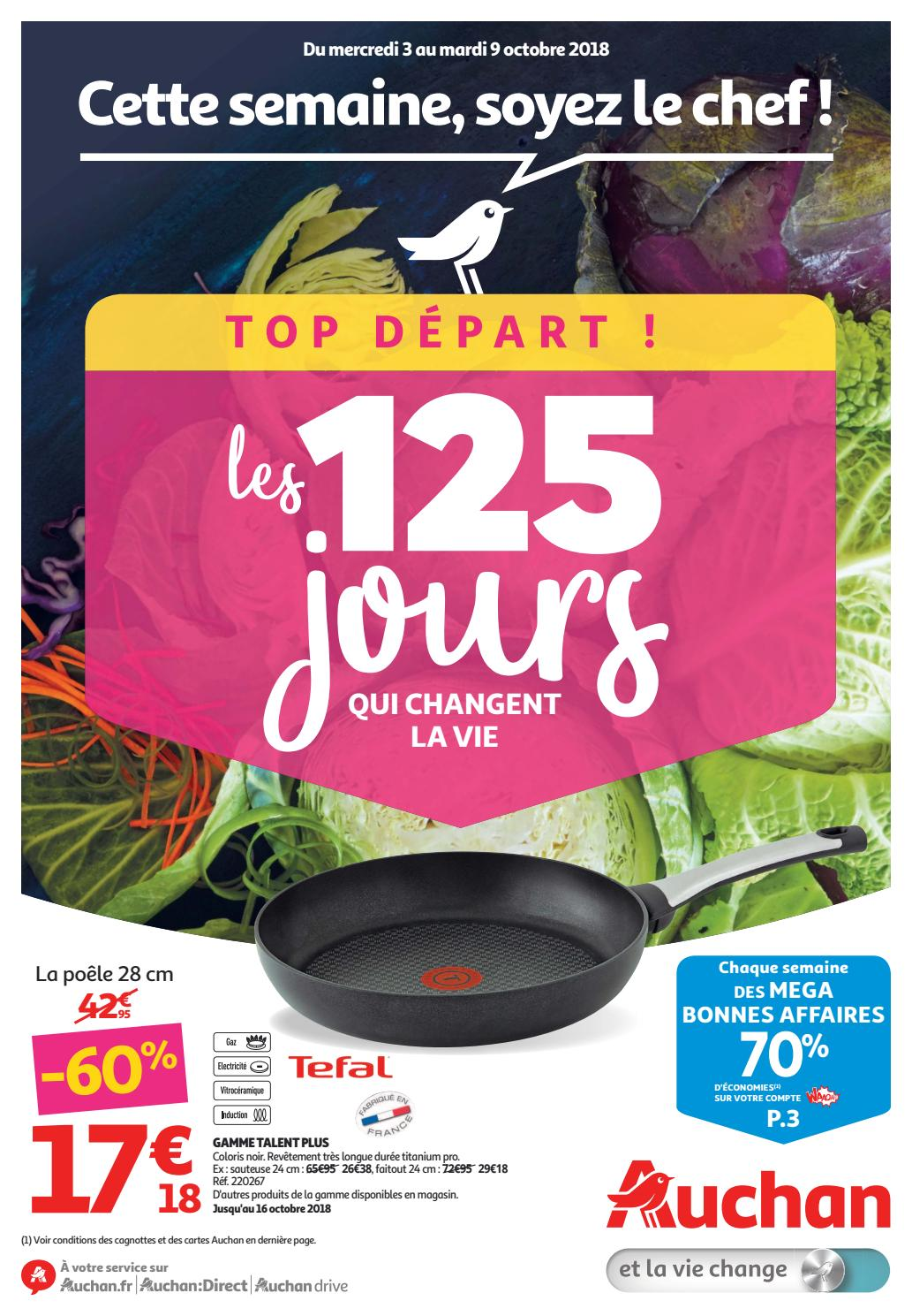 Hypermarché 9 Catalogue Octobre 3 Du 2018 Auchan Au dBxeCor