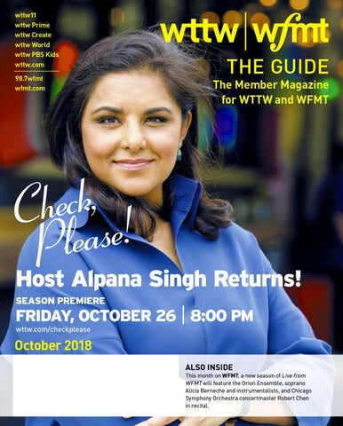 The Guide | October 2018 by WTTW Chicago - issuu