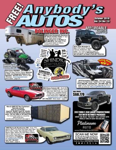 10ac72c40d October 2018 by Anybodys Autos - issuu
