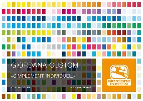ead294e70 Giordana Custom Suisse