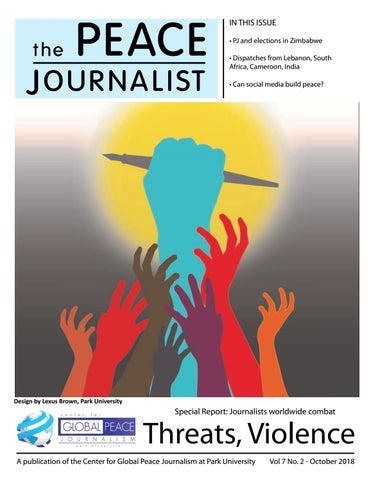 The Peace Journalist October 2018 by Center for Global Peace