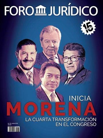 Inicia Morena la cuarta transformación by Foro Jurídico - issuu