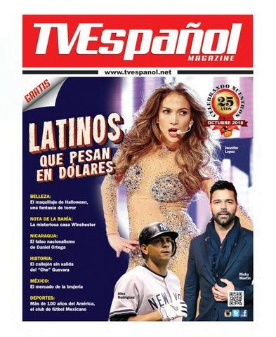huge discount e61b8 0d83f TV Espanol Magazine Digital - Octubre 2018