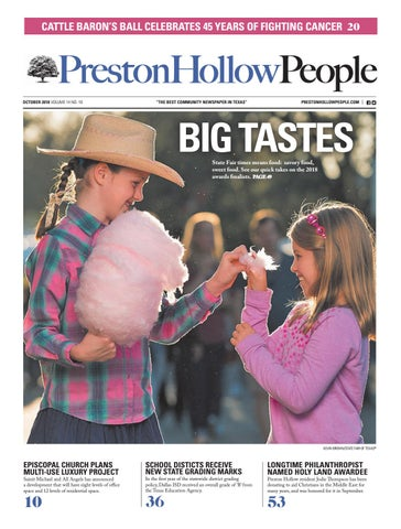 26d20834b02 Preston Hollow People October 2018 by People Newspapers - issuu