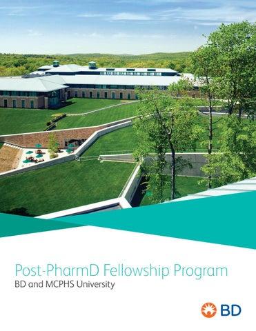 MCPHS Post-PharmD Fellowship Program — BD by Massachusetts