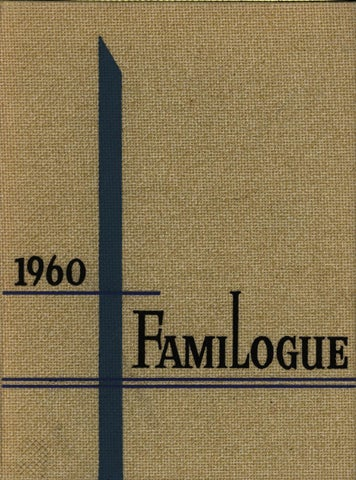 Holy Family University Yearbook - 1960
