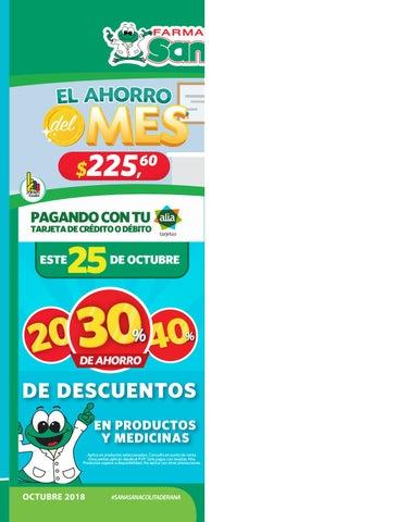 0069b24c3cf4 Catálogo Octubre by Farmacias SanaSana - issuu