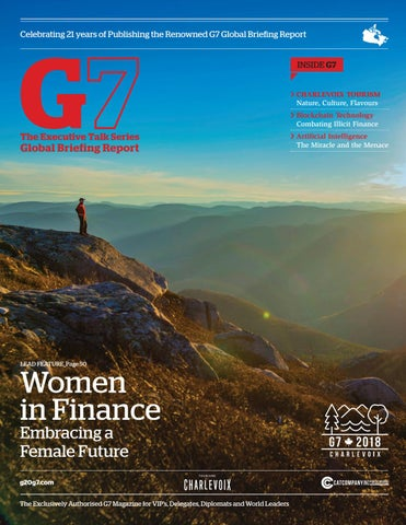 Attirant The 2018 Authorised G7 Summit Canada Global Briefing Report By The ...