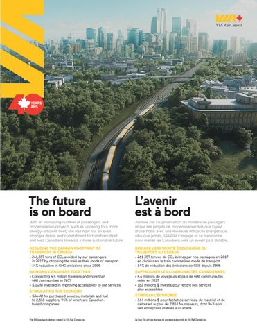 Page 21 of Leading Canadians to a more sustainable future