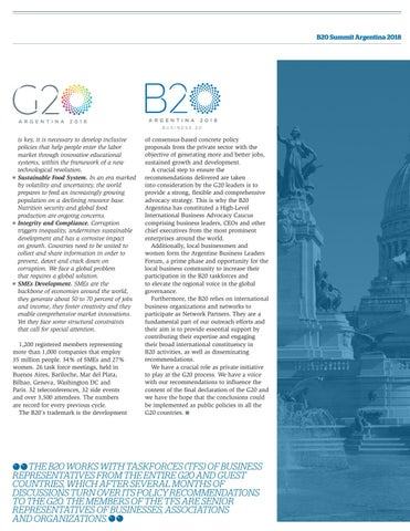 Page 27 of The B20 business summit works for the G20