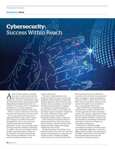Page 74 of Cybersecurity, success within reach