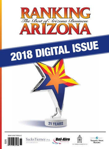 Ranking Arizona 2018 Digital Issue by AZ Big Media - issuu