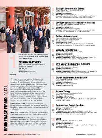 Ranking Arizona 2018 Digital Issue