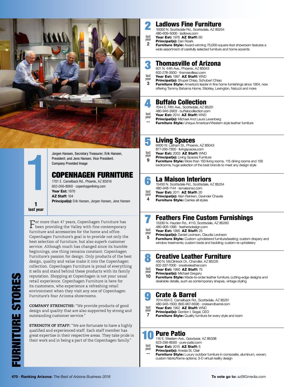 Ranking Arizona 2018 Digital Issue By Az Big Media Issuu