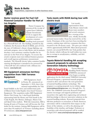 Page 36 of Material Handling News
