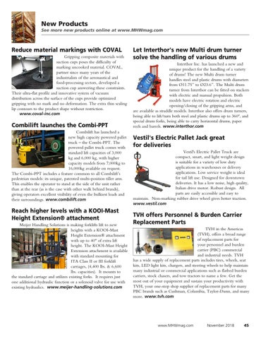 Page 45 of Material Handling Wholesaler Product News