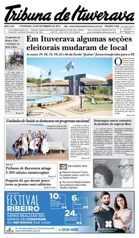 4d72dbb093 Primeiro Edição 3300 by tribunadeituverava - issuu