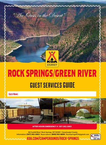 Rock Springs/Green River KOA by AGS/Texas Advertising - issuu
