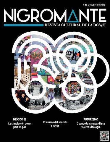 269e7b0769 Nigromante Octubre 2018 by Nigromante. Revista de la DCSyH, Facultad ...