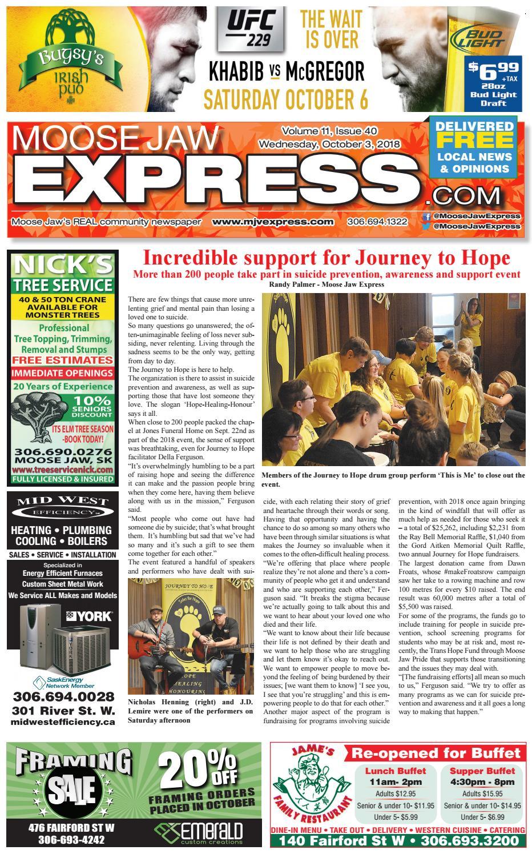 Moose Jaw Express by Moose Jaw Express - issuu