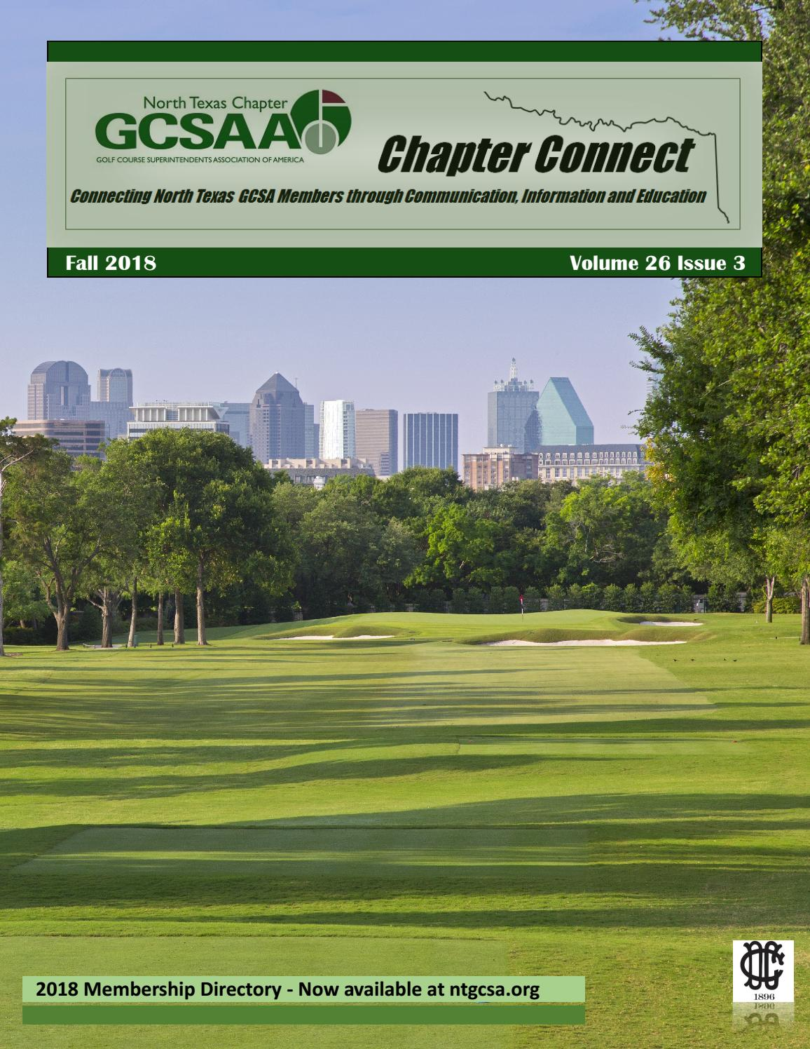 NTGCSA Chapter Connect Fall 2018 by Cloud Association
