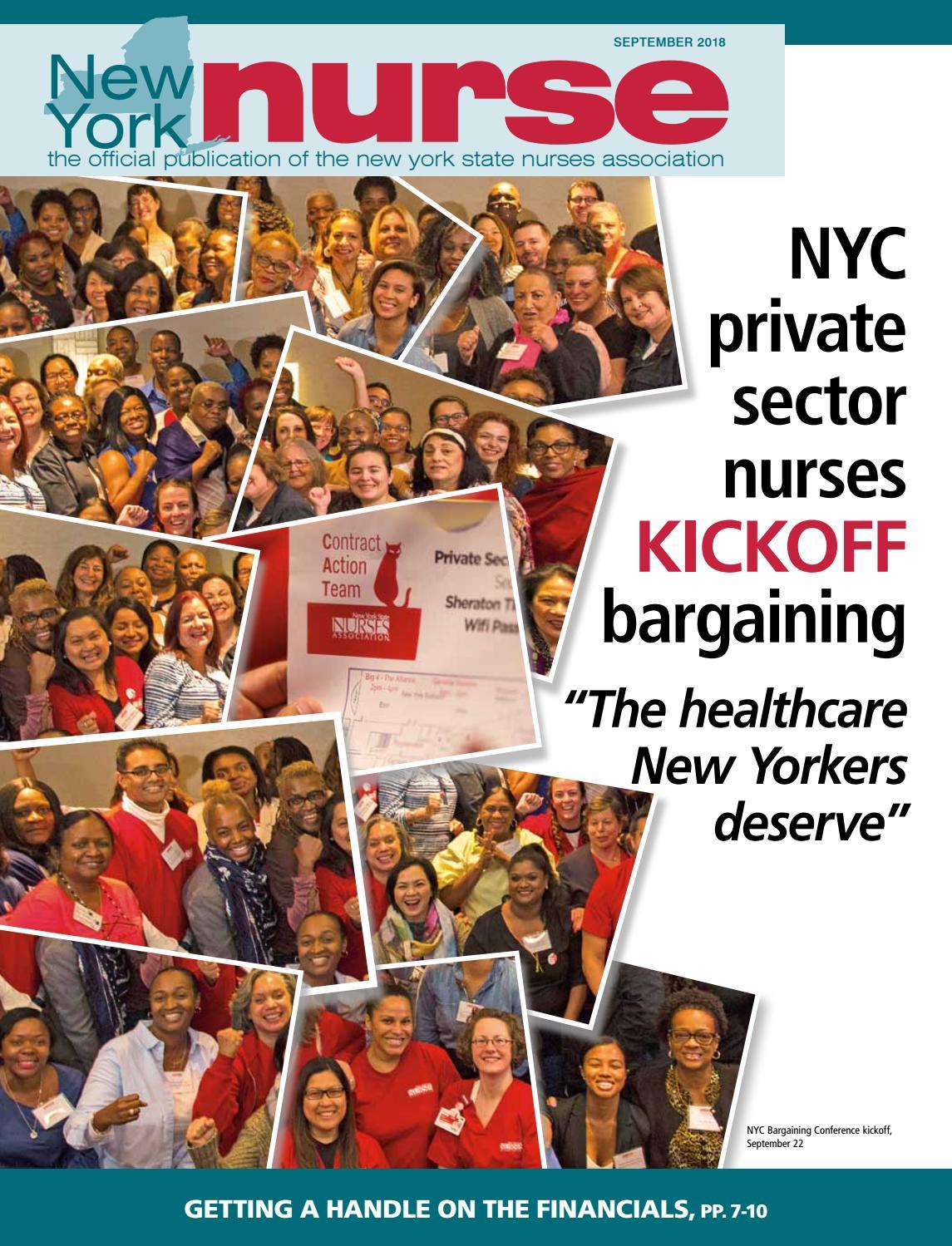 NY Nurse September [All Regions] by New York State Nurses