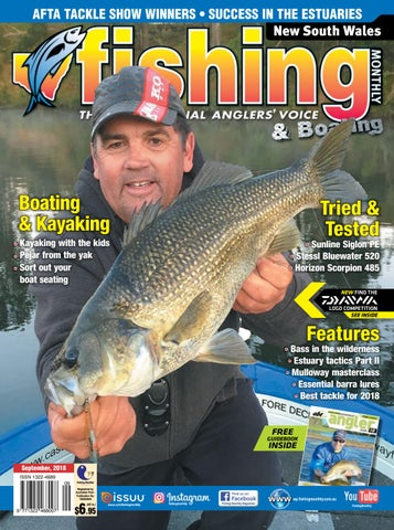 49ebb60962b NSW Fishing Monthly October 2018 by Fishing Monthly - issuu