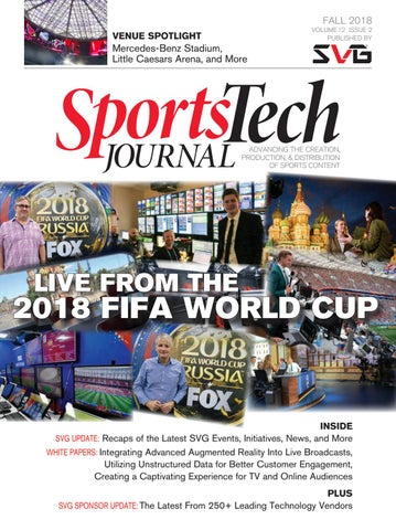 SVG Fall 2018 Sports Tech Journal by Sports Video Group - issuu