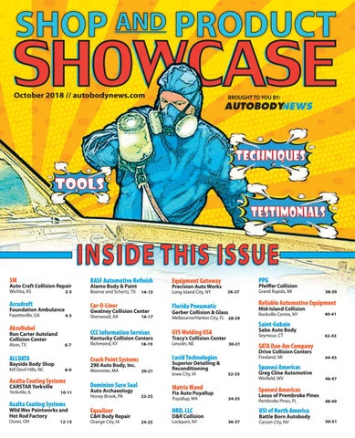 October 2018 Shop Amp Product Showcase By Autobody News Issuu
