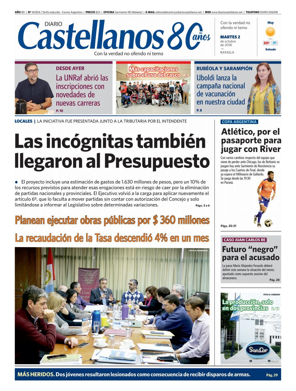 Diario Castellanos 02 10 18 by Diario Castellanos - issuu f74438177fa8c