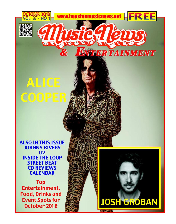 ed0cd4e441a3e4 Houston Music News - October 2018 by Texas Music News - issuu