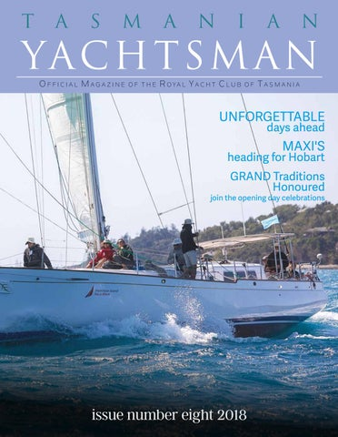 The Tasmanian Yachtsman by Nicky Sanders Publishing and