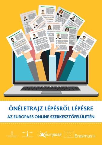 önéletrajz milyen formátumban Önéletrajz lépésről lépésre az Europass online szerkesztőfelületén  önéletrajz milyen formátumban