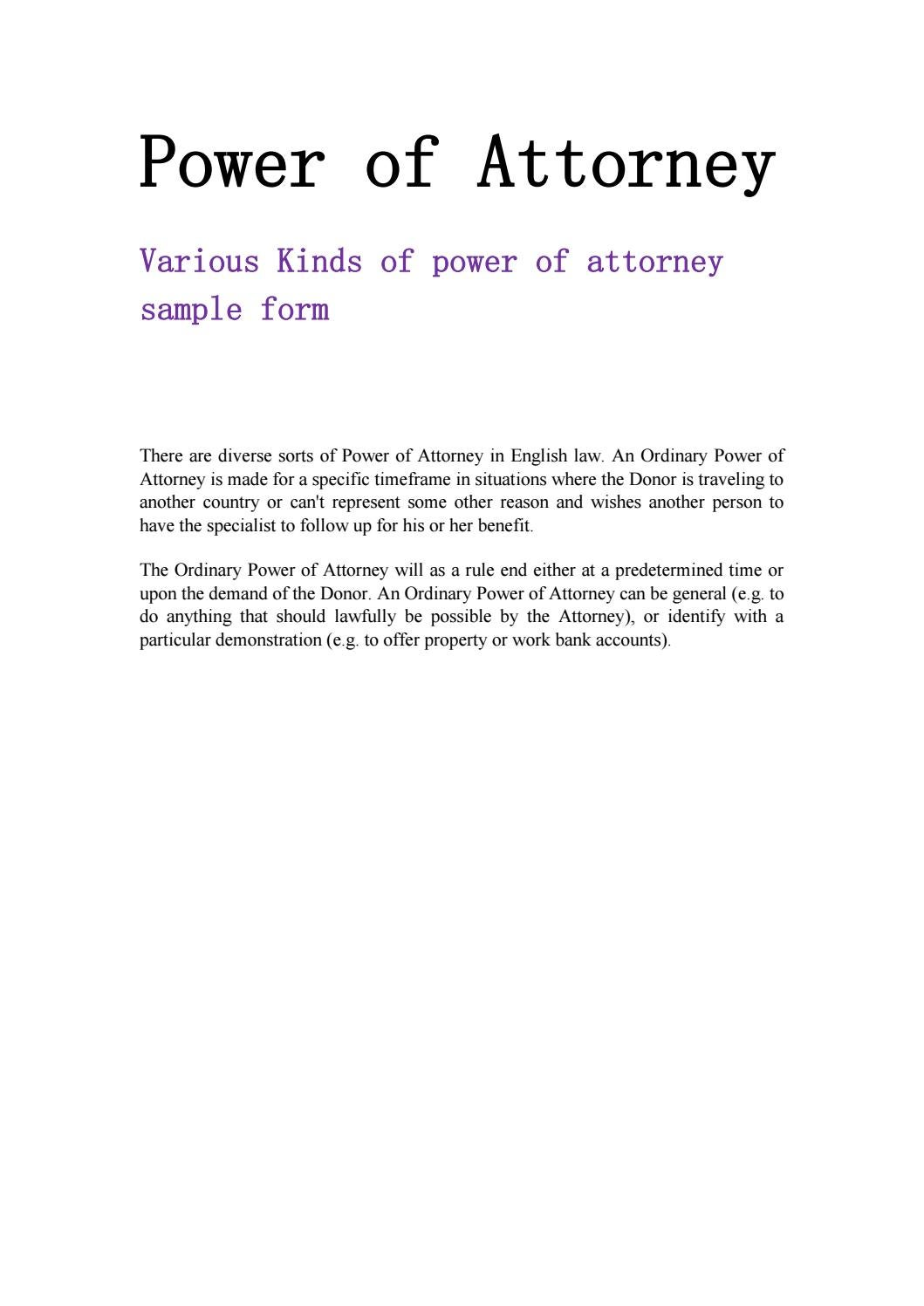 Example Of Power Of Attorney Letter from image.isu.pub