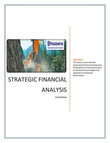 Financial Analysis PDF | Types of Financial Analysis by Sammy