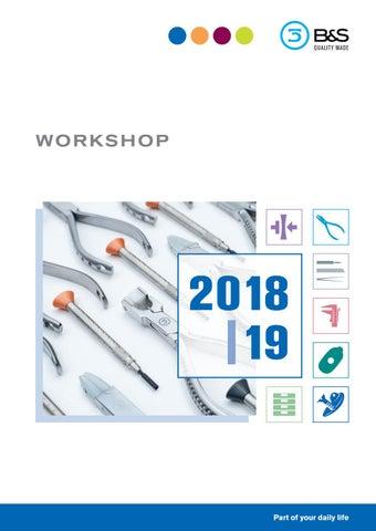 df77dfaaad B S Workshop catalogue 2018 by OPO Scandinavia AB - issuu