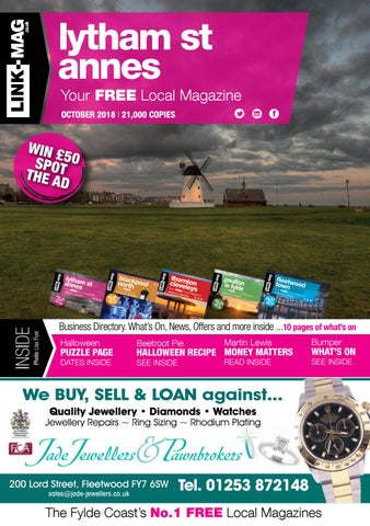 LINK-MAG | Lytham St Annes | October 2018 by LINK-MAG - issuu