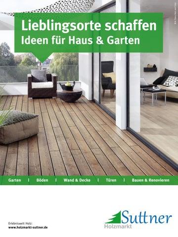 Suttner Ideen Fur Haus Garten By Kaiser Design Issuu