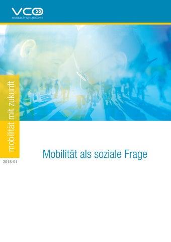 2018 01 Vcö Publikation Mobilität Als Soziale Frage By Vcö