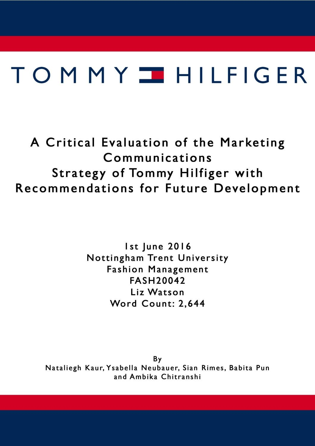 tommy hilfiger discount code student