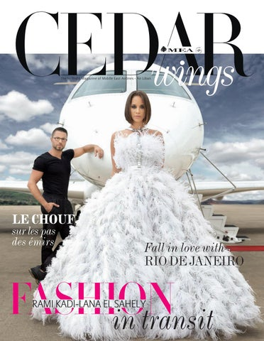 effe2a3e9f Cedar Wings magazine. Fashion Issue. October - November 2018 by ...