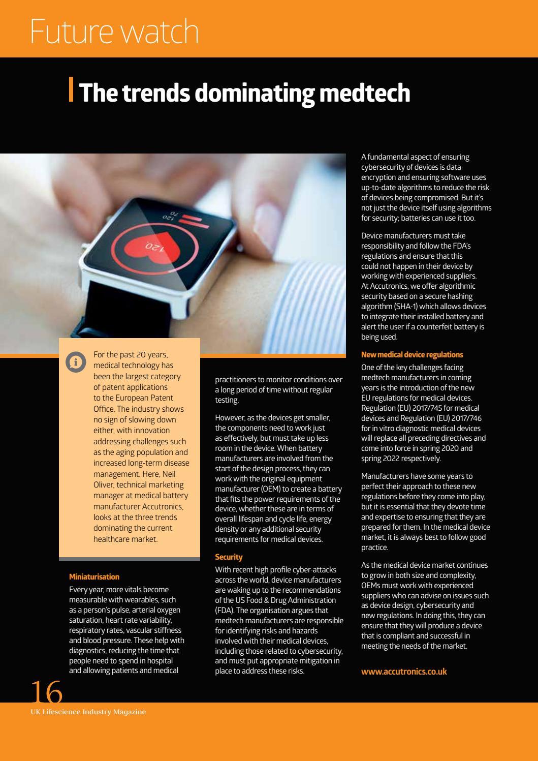 UK Lifescience Magazine Issue14 by Teamworks Design - issuu