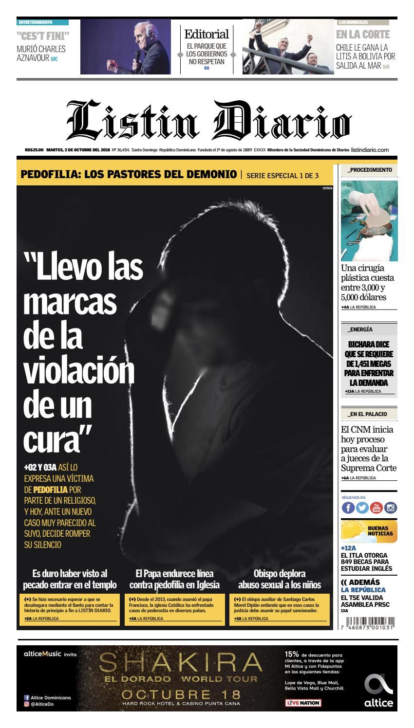the latest 34030 e2add LD 02-10-2018 by Listín Diario - issuu