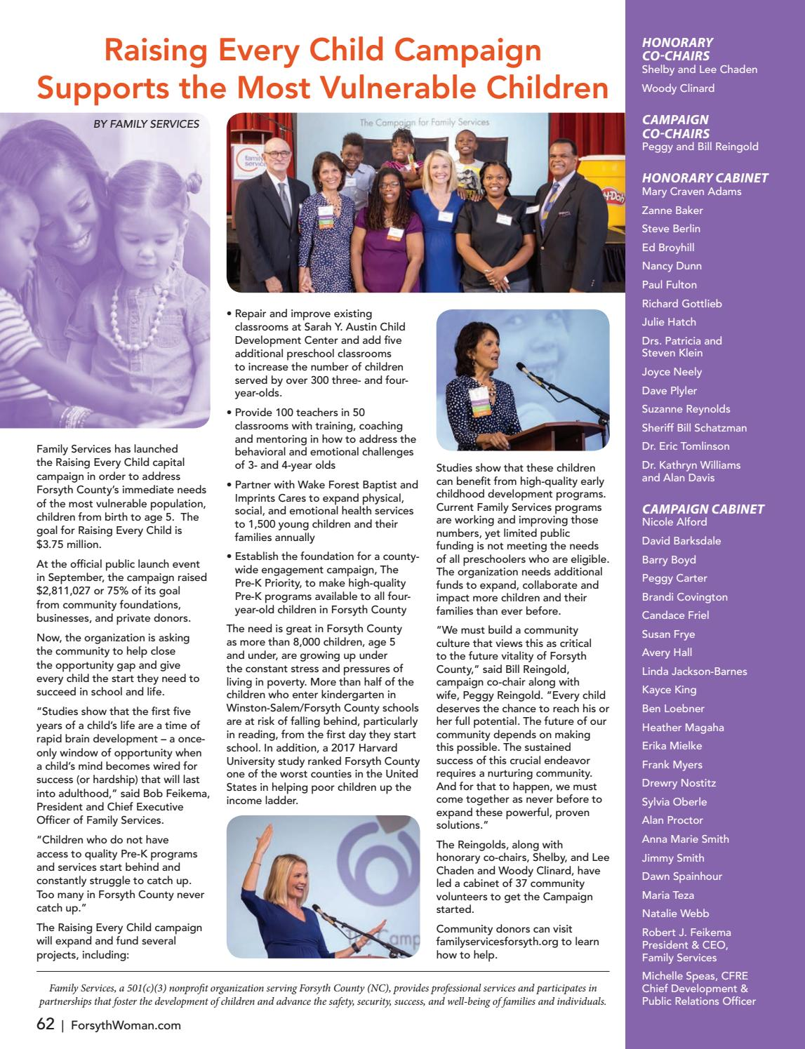 Forsyth Woman - October 2018 by Forsyth Mags - issuu