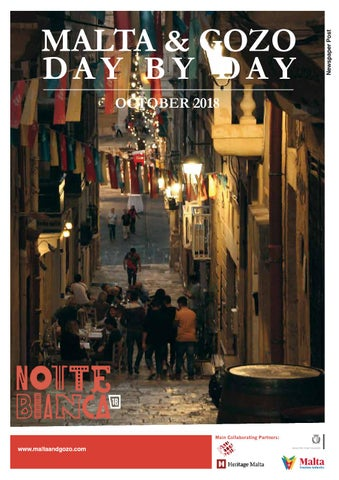 Malta & Gozo Day By Day October 2018 by IMPACT PR - issuu