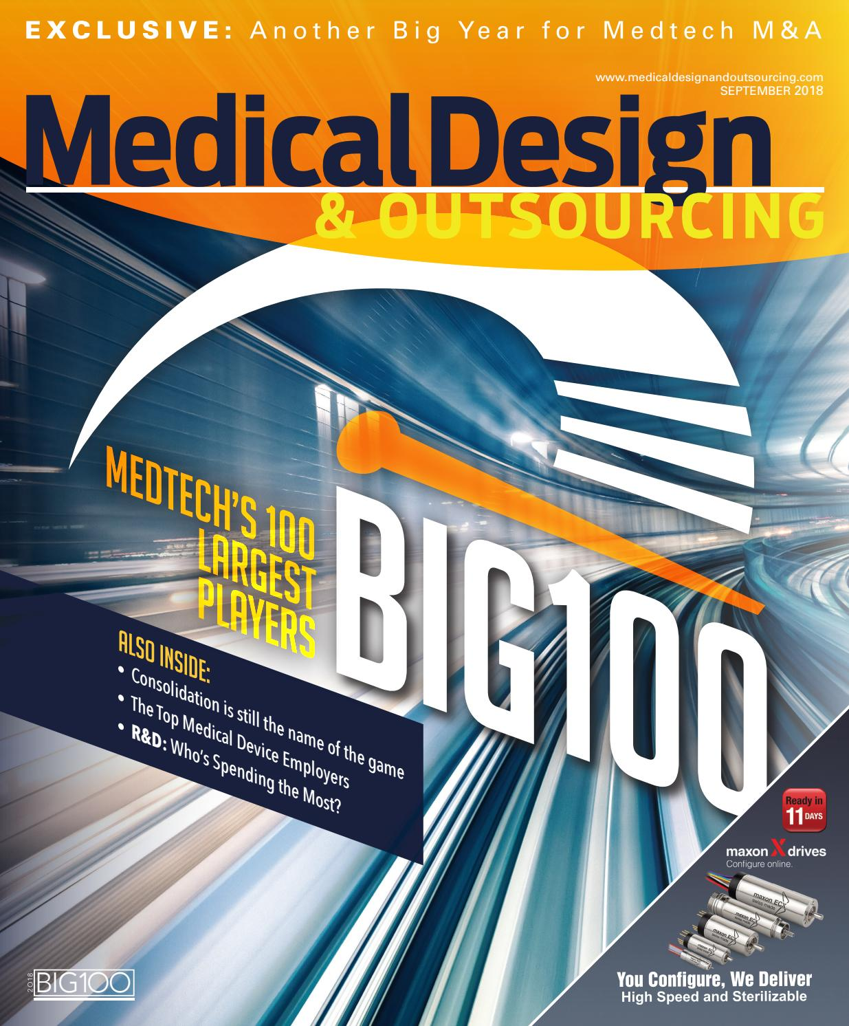 Medical Design & Outsourcing — SEPTEMBER 2018 by WTWH ...