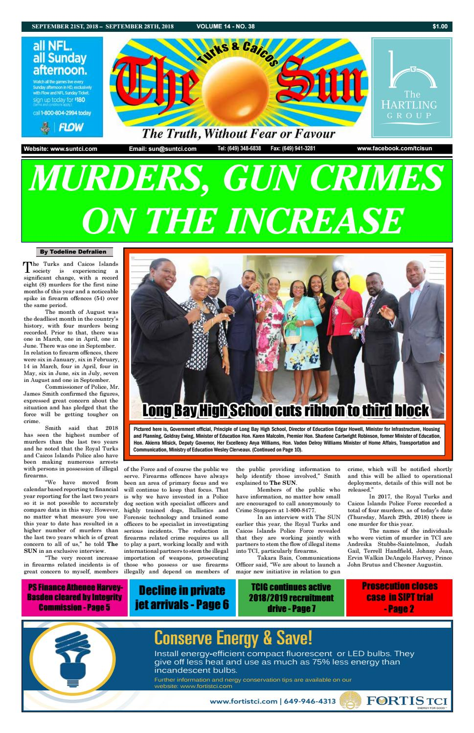91a8f4c2849c5 VOLUME 14 ISSUE 38 by The SUN Newspaper - issuu