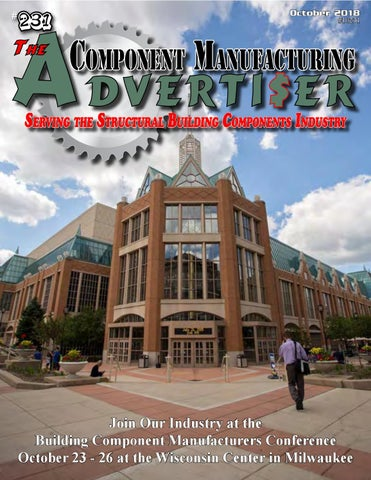 October 2018 Advertiser by Component Manufacturing